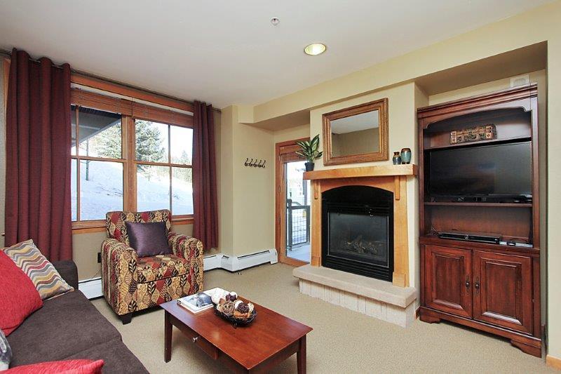 Accédez aux pistes de ski juste à côté de votre porche!