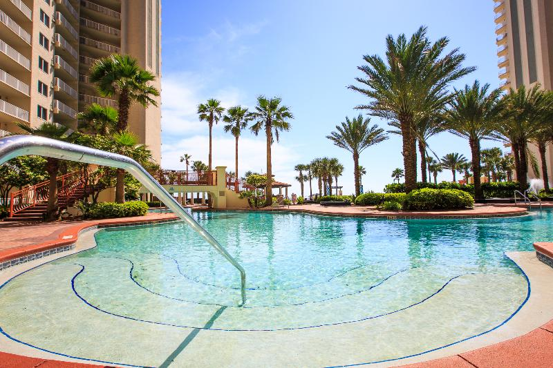 Shores of Panama pool deck is 13,966 sq ft of beauty.