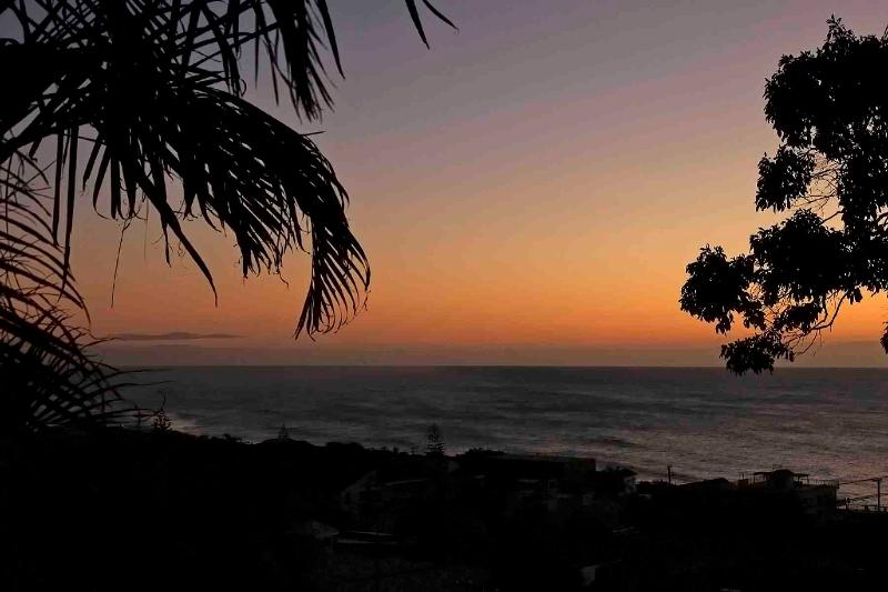 Coolum Holiday Sunrise over the Pacific Ocean