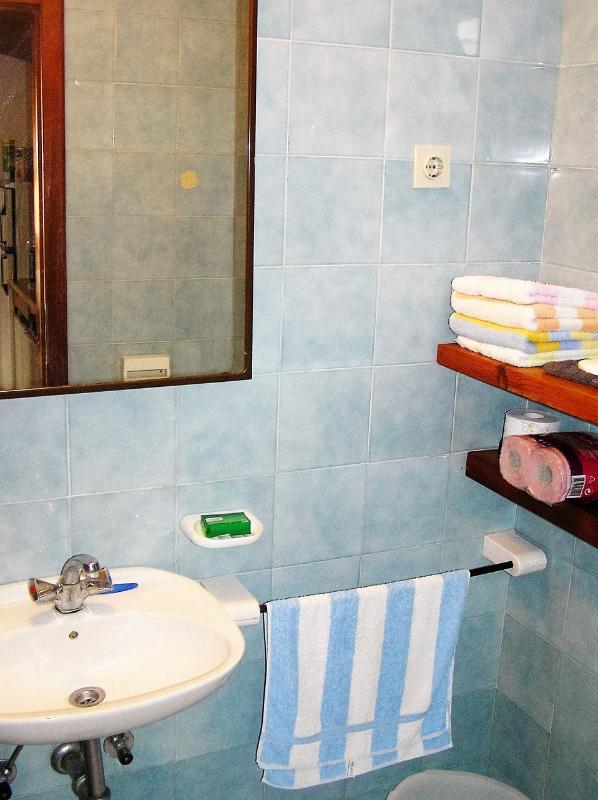 B (2 + 3): salle de bain avec toilette