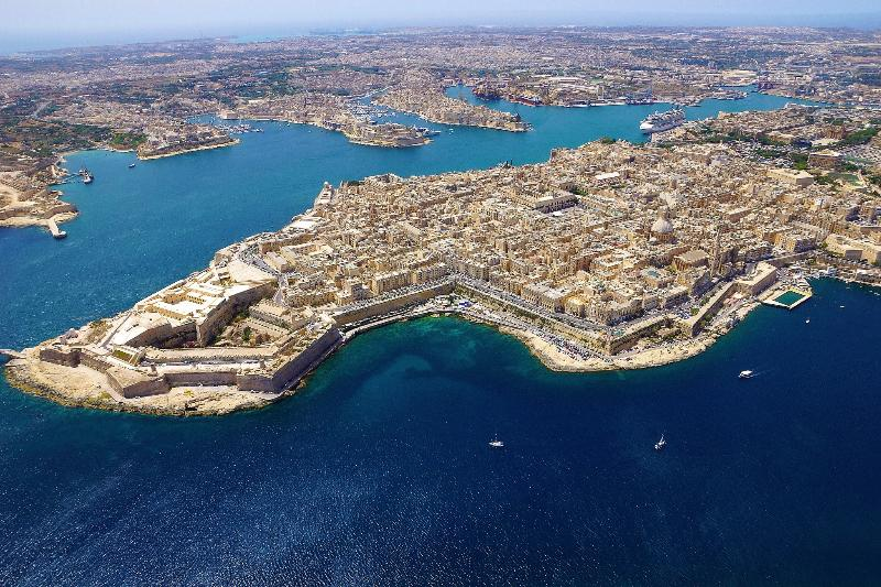Valletta - Malta's Beautiful Capital City Just 25 Minutes By Bus.