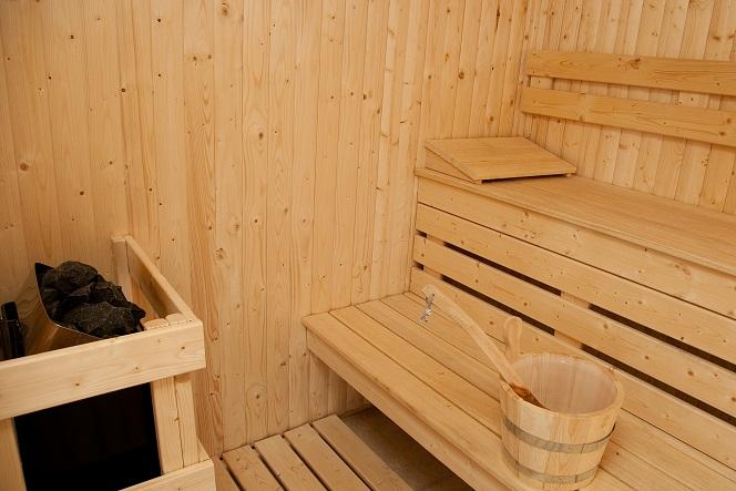 The Sauna at The Sedum Spa