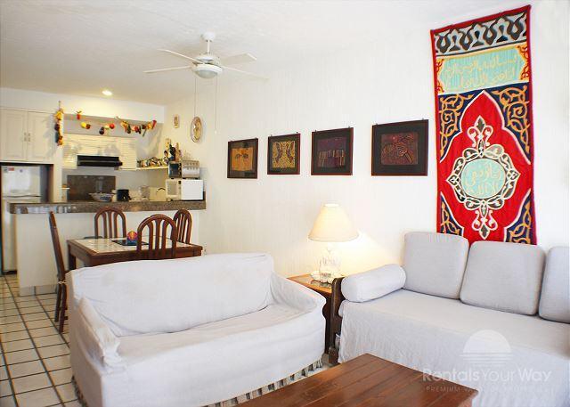 Xaman Ha 7020 Playa del Carmen Living Room