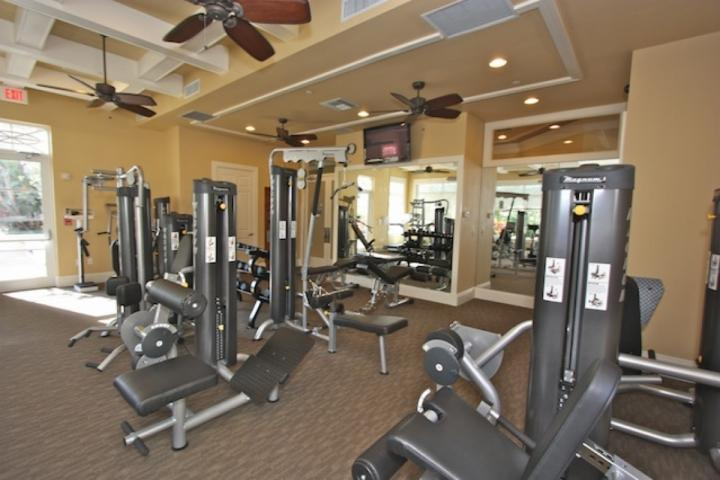 Gemensamt fullt utrustat gym