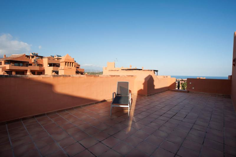 La terraza superior