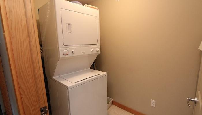 Insuite washer and dryer