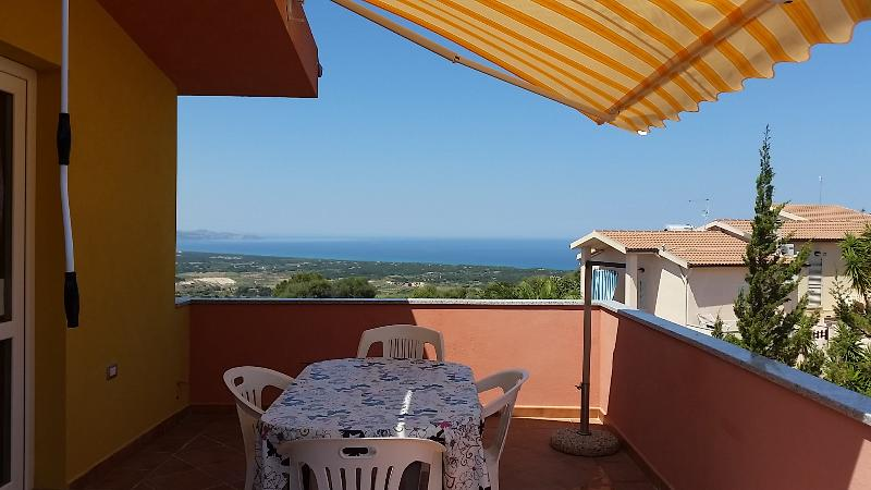 terrace beautiful sea view