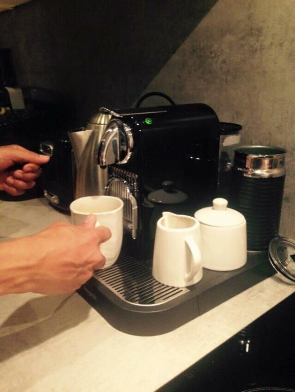 Your Nespresso Coffee at anytime you want