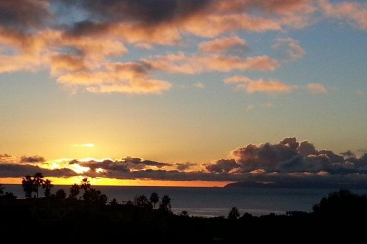 Ocean View from Home at Sunset