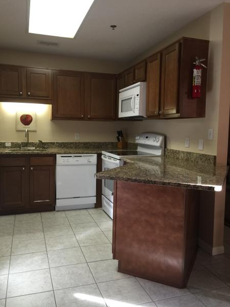 Brand new cabinets and granite counters
