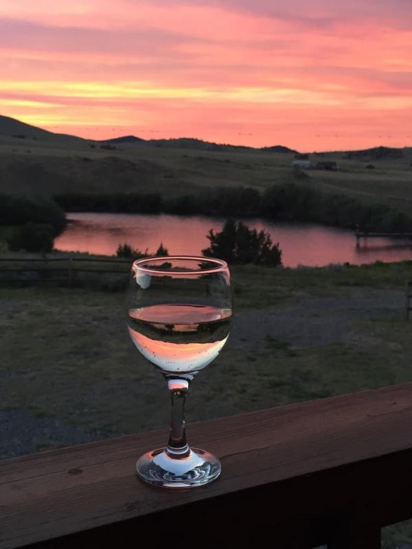 Relax on the deck after a fabulous day in Southwest Montana!