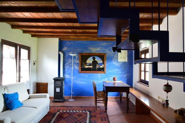 loft in campagna.creato in un vecchio fienile, vakantiewoning in Ponzone