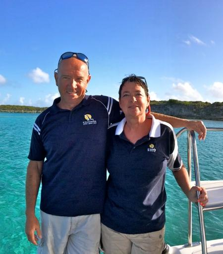 Le Capitaine Steve & chef Bonnie