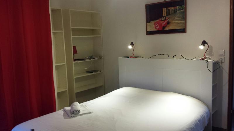 La cabine 3 avec le grand lit de 160