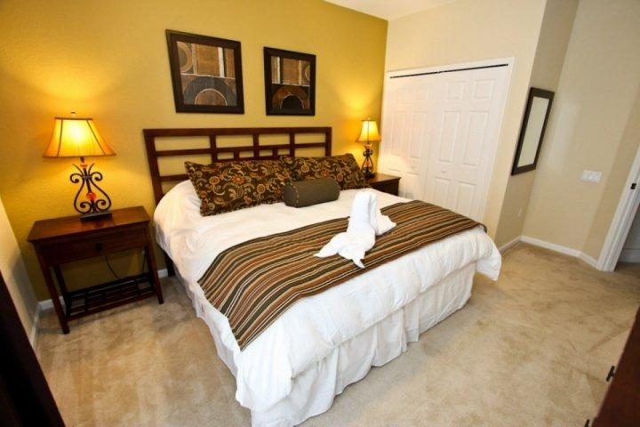 1st Floor King Master Bedroom w/En-Suite Bath & Flat Screen TV w/Cable - View #2