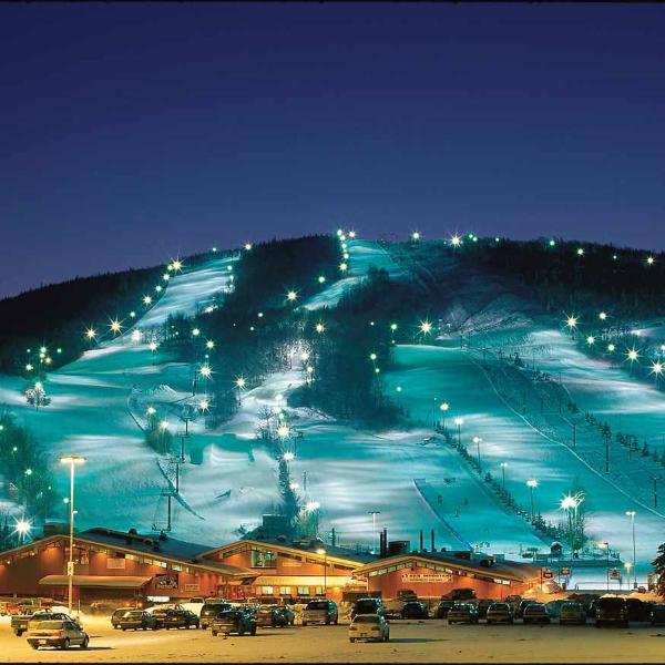 Centre de ski Stoneham situé à 10 minutes du gîte.