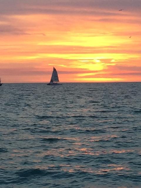 Beautiful sunsets steps away!