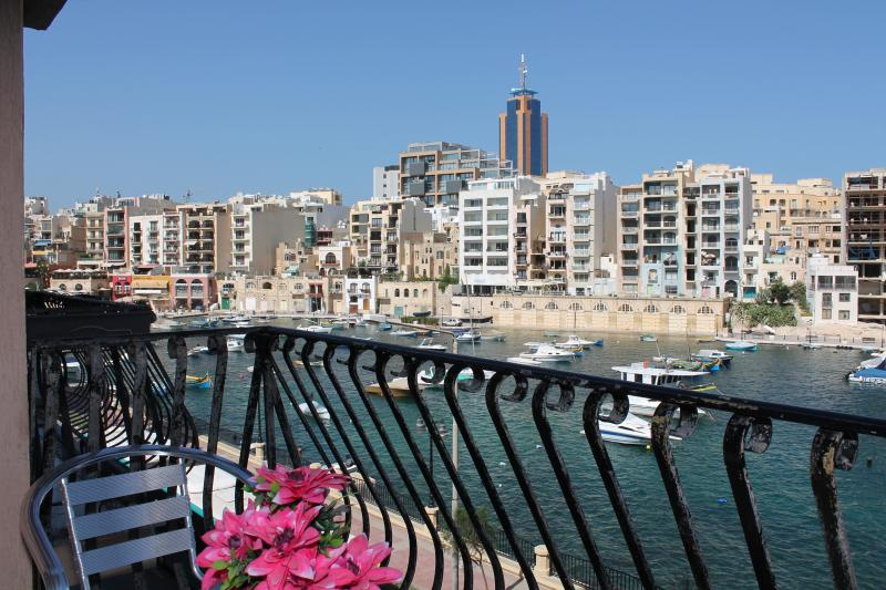 Enchanting seafront view from the balcony