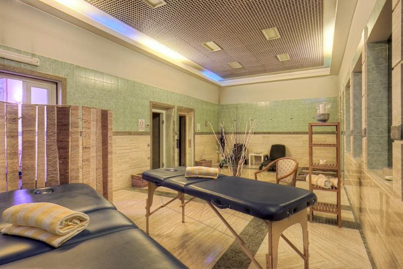 Need a Massage or a Sauna?...OK: a Turkish Bath!