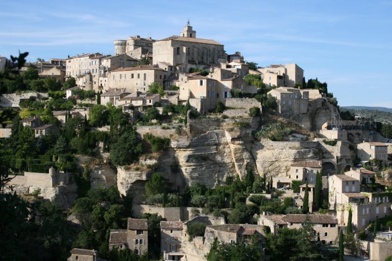 Nearby village of Gordes