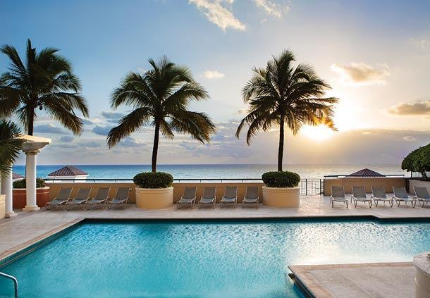 Pool overlooking The Atlantic