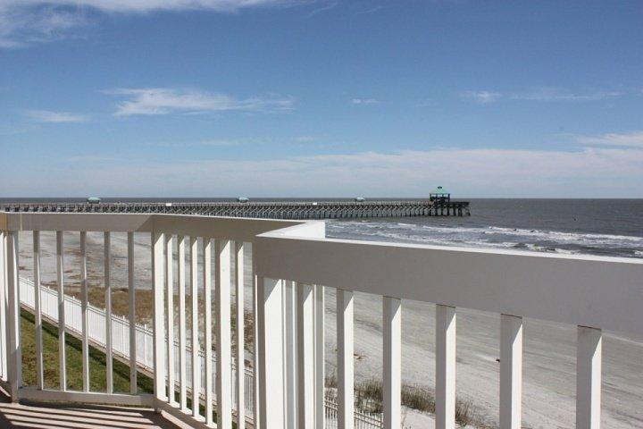 Folly Beach and Folly Pier from the double balcony