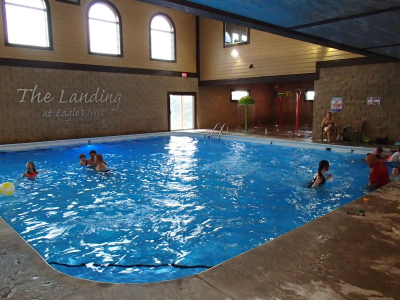 Brand new indoor, heated salt water pool !  Not available to a majority of the units advertised here