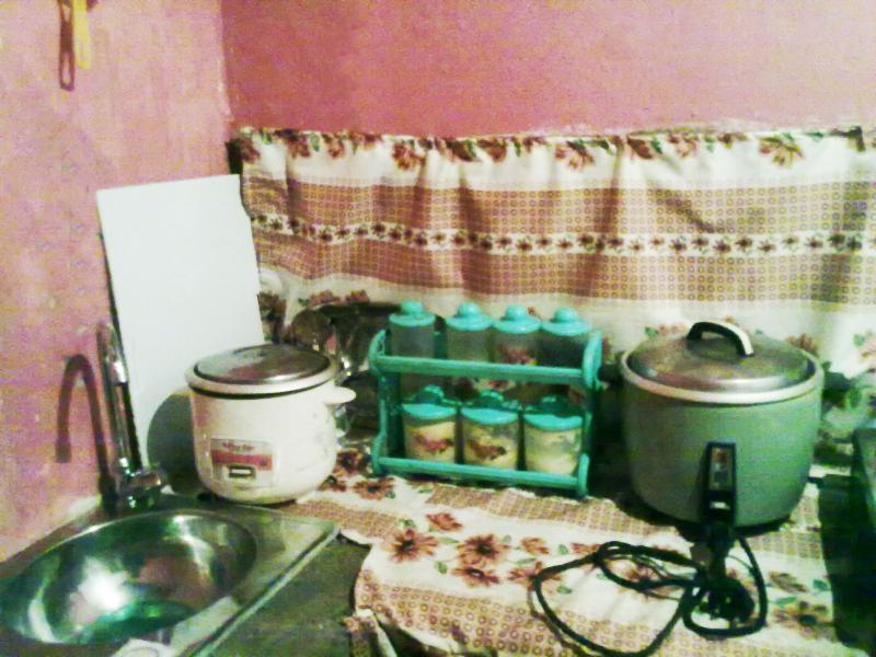 Attached Mini Kitchen