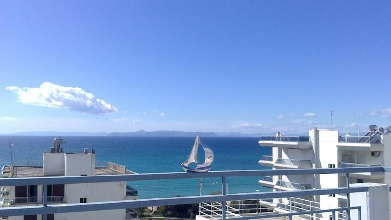 Terrace View of Athens riviera 'Alimos Beach'