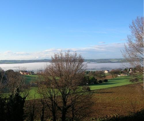 Panorama della zona