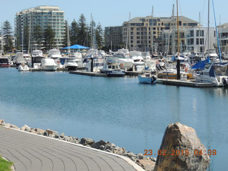 And also just a short 5 minute walk away is the Glenelg tram to the city.