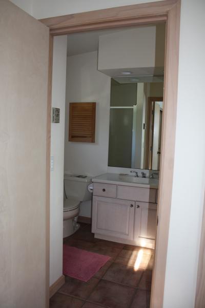 banheiro anexo lá em cima