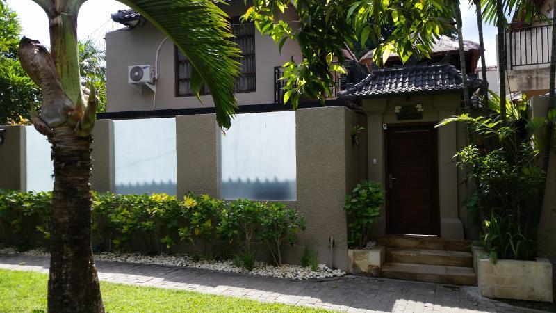 outside of villa