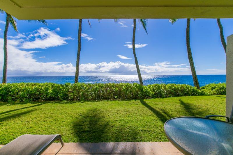 View from Poipu Shores 102A