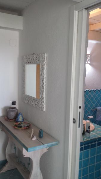 Bathroom access from the living room