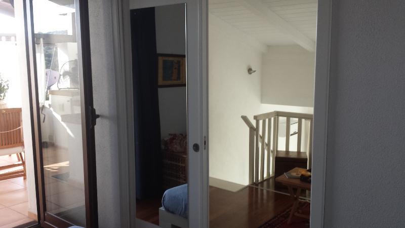 Loft bedroom door
