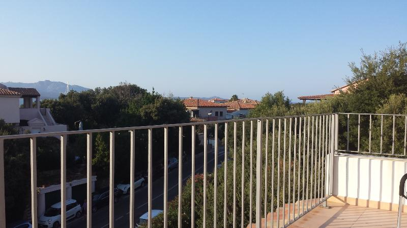 View from the second private terrace