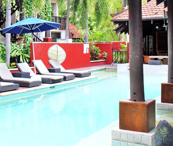 Port Douglas Car Rental: Apartment 21 @ Hibiscus Gradens Resort Has DVD Player And