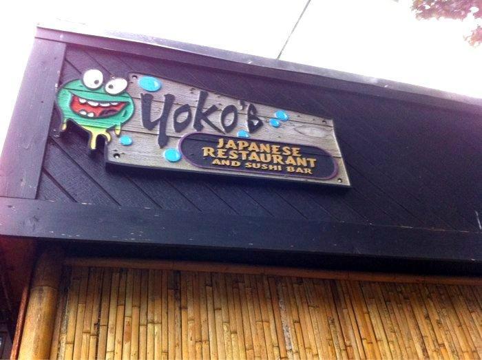 Yokos Sushi just a few blocks away
