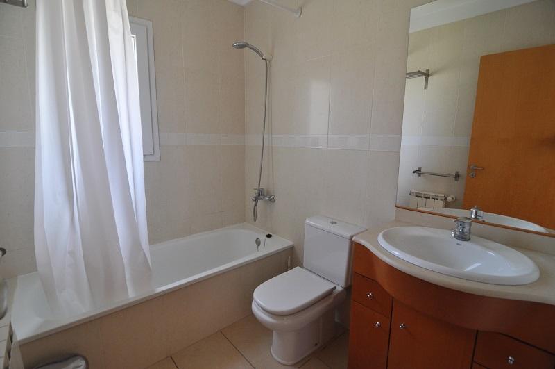 Bathroom on the first floor with bath