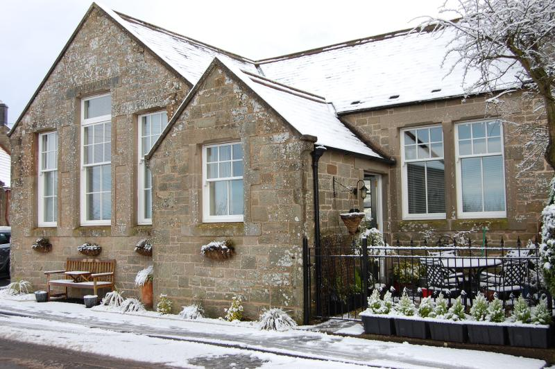 White Xmas at the Old School.