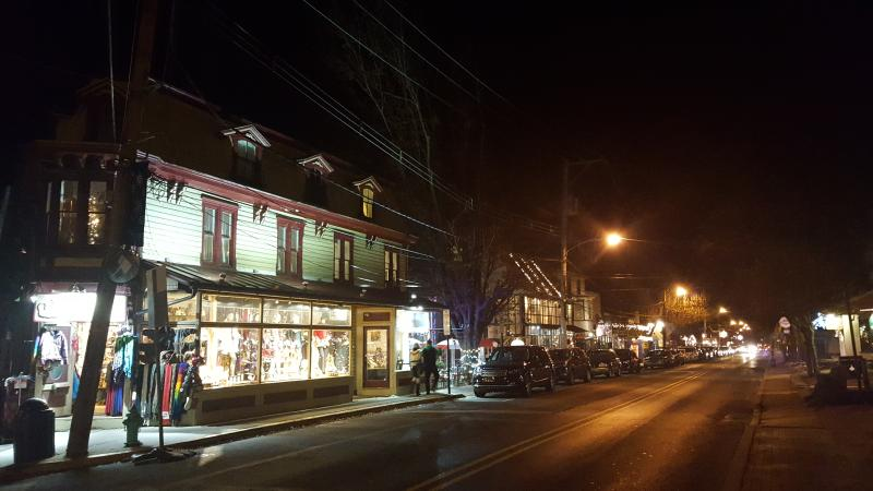 Another view from Main Street New Hope.