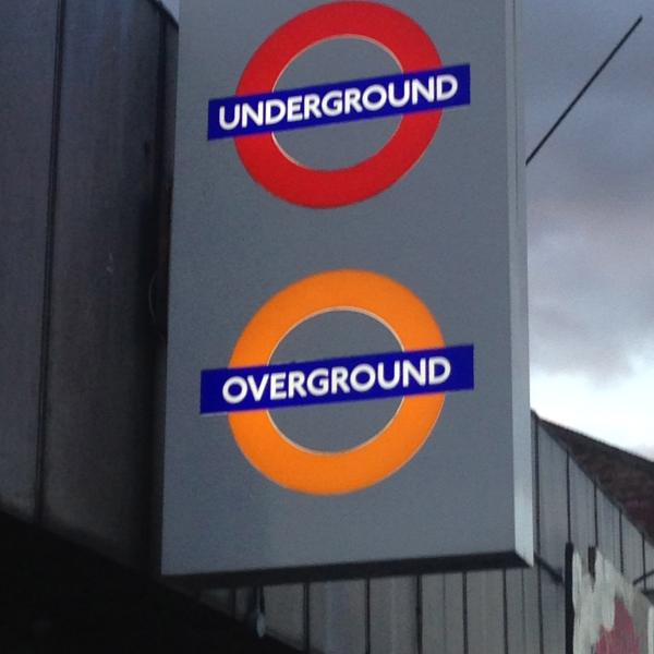 Underground and Overground trains from Queens park Station. 15 minutes into Central London
