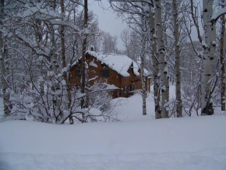 Nestled in the aspens in a very quiet neck of the woods- yet only 15 minutes to the center of town!