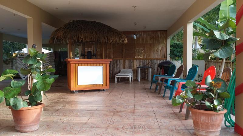 Terrace and Tiki Bar