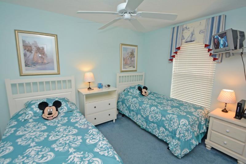 Doppia camera da letto 4 con TV Wifi.