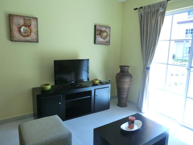 We hebben nu een nieuwe (groter dan de afbeelding) tv in de woonkamer