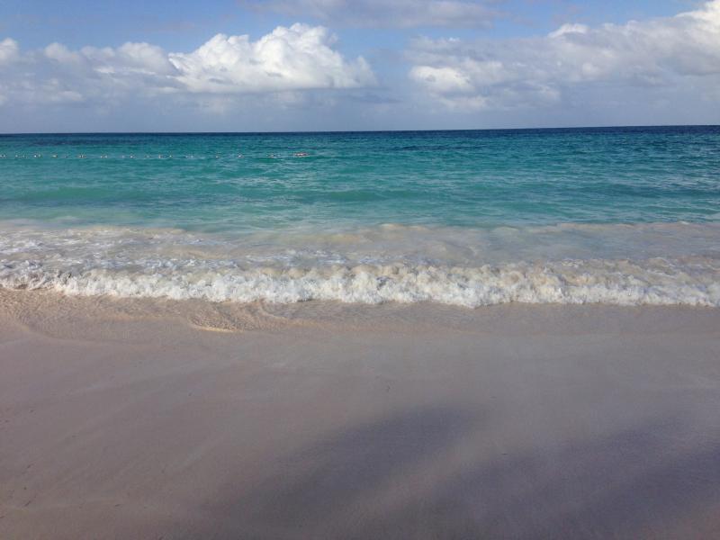 Het strand is voor u klaar...