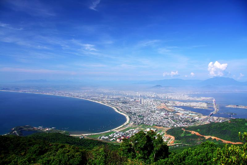 Scandinavian Staffing Ltd's apartments are a 5 minute ride from the beach in Da Nang