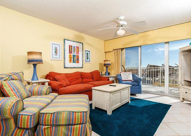 Bold and beautiful with perfect views of the beach and quick acc